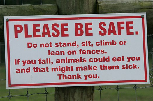 Caring Sign