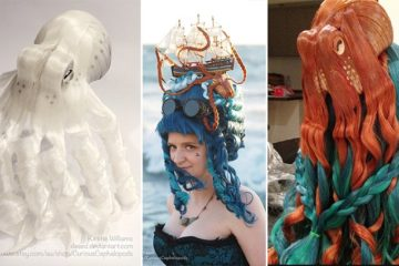 Cephalopod Hair Fascinators