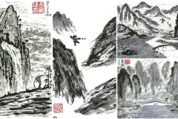Chinese Ink Landscapes