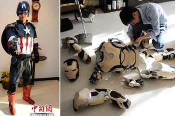 Chinese Student Makes Avengers Costumes