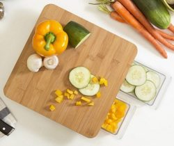 Chopping Board With Storage Drawers