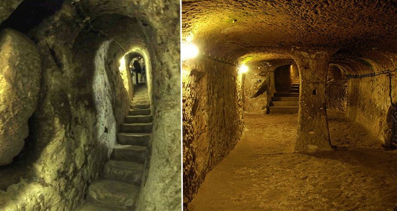 Man Knocks Down Wall In Basement And Discovers A Tunnel Connecting To The Ancient Underground City Of Derinkuyu