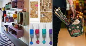 DIY Idea For Organising