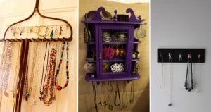 DIY Organizing Jewelry