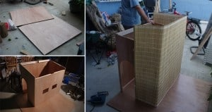 DIY Tropical Dog House