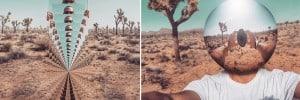 Desert reflections Self Portraits