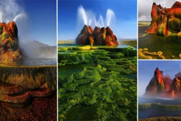 farmer Fly Geyser nevada