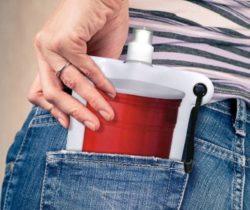 Flat Pocket Flask