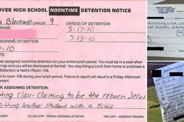 Funny Reason For Detention