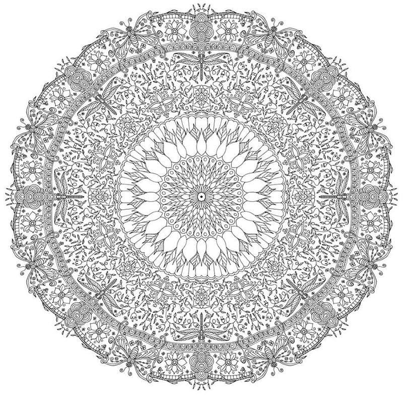 This Artist Creates Awesome Mandala Art Templates And
