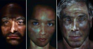 Gary Schneider Illuminated Portraits