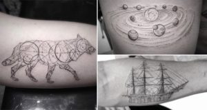 Geometric Tattoos Dr Woo