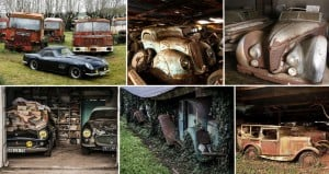 grandfathers car collection france Baillon Collection