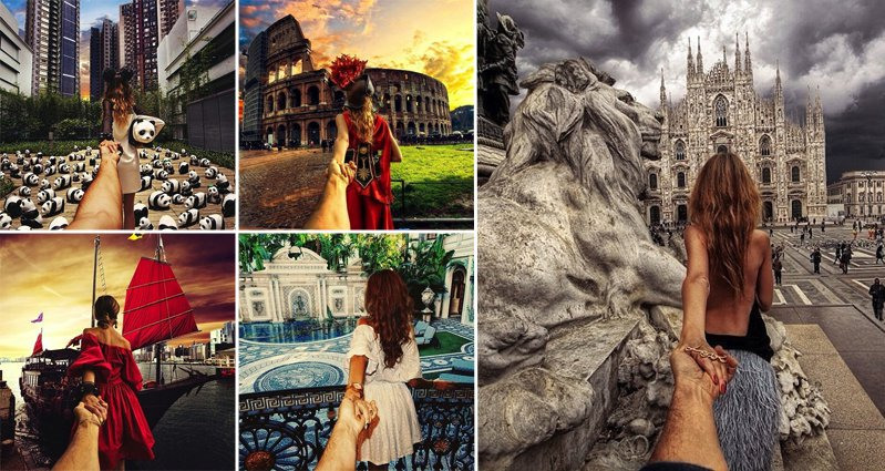 This Guy Took These Amazing Photos While His Girlfriend Pulls Him - Guy takes awesome photos girlfriend tugs along