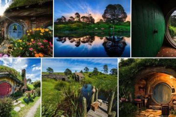 Hobbiton Real Place