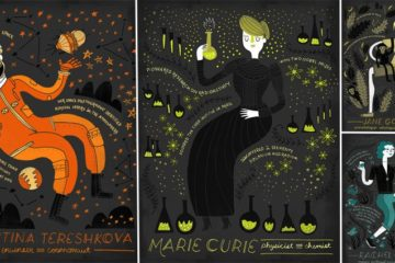 Illustrations Celebrate Women In Science