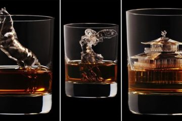 Individually Sculpted 3d Ice Cubes