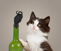 Kitty Wine Bottle Stopper