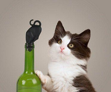 Kitty Wine Bottle Stopper