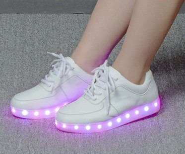 LED sneakers trainers