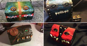 Luggage Monster Boxes