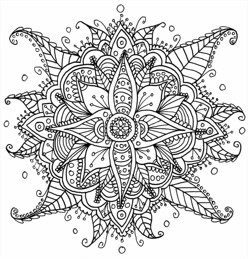 This Artist Creates Awesome Mandala Art Templates And Gives Them ...