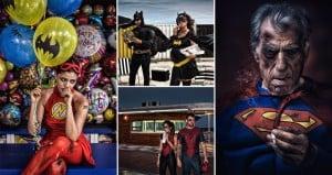 Martin Becks Superhero Photo Series