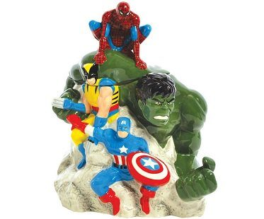Marvel Superheroes Cookie Jar