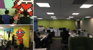 Mural Post It Notes