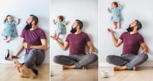Newborn And Dad Photos