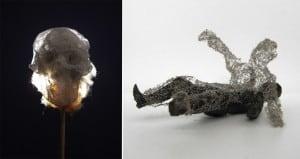 Paul Hazelton Eerie Sculptures