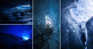 Photos Inside A Glacier