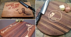 Pun-Filled Cutting Boards