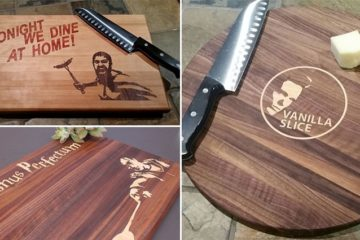 Pun-Filled Cutting Boards