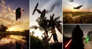 Recreated Star Wars Scenes