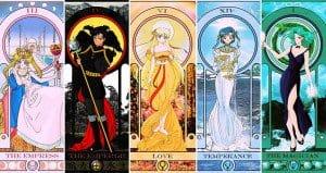 Sailor Moon Tarot Cards