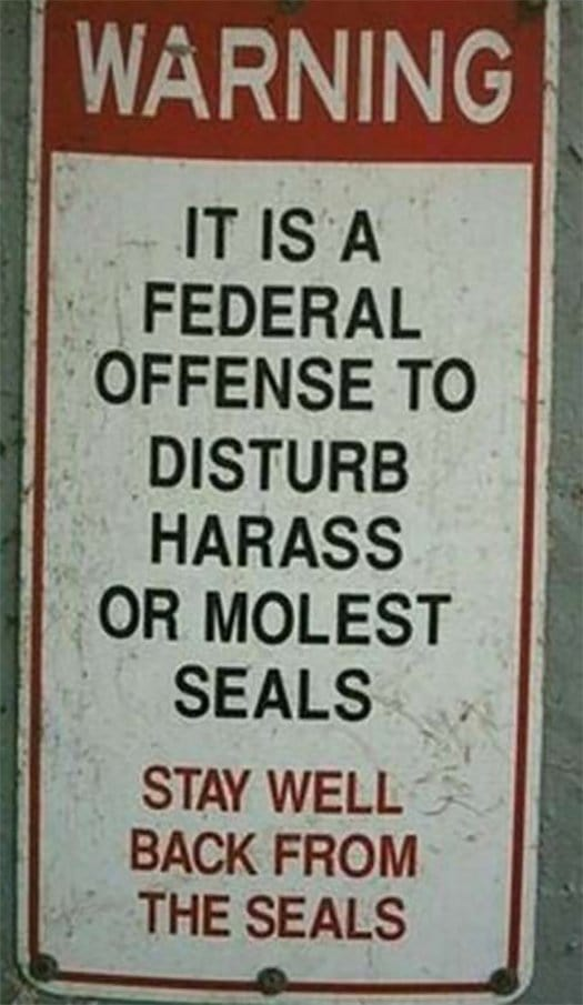 Seals Offence
