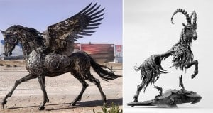Steampunk Animal Sculpture