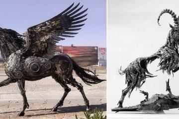 Steampunk Animal Sculpture
