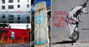 Street Art Containing Environmental Message