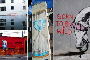 Street Art Containing Environmental Message