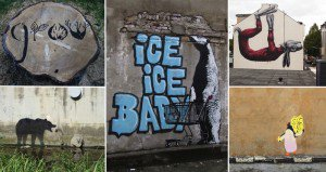 Street Art Containing Environmental Messages