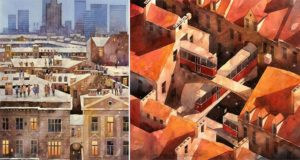 Surreal Paintings Tytus Brzozowski