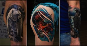 Tattoo Artist Creates Masterpieces On Skin