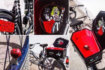 Tim Burton Inspired Tandem Bike
