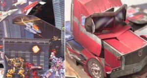 Transformers 3D Pop Up Book