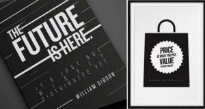 Typographic Prints Of Quotes