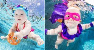 Underwater Baby Photos