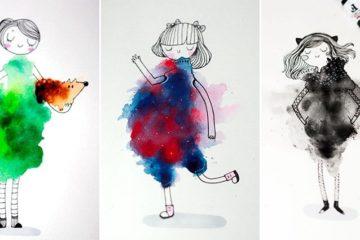 MJ Da Luz watercolor art
