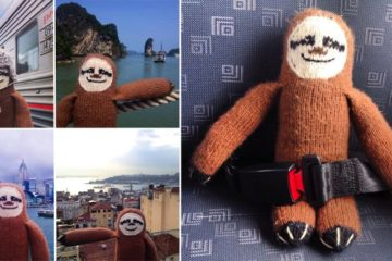Woolen Sloth World Tour